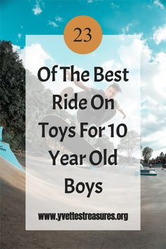 Best Ride On Toys - a great selection of ride on toys for older kids. These will make great gifts for kids from 8 - 10 years old. The perfect gift for birthday or Christmas. They will have loads of fun with these kids ride on toys. From hover boards, to power riders, and many more! #rideontoyskids #kidsrideontoys #rideontoys Unique Gifts For Kids, Unique Christmas Gifts, Christmas Gift Guide, Christmas Toys, Gifts For Teens, Cool Gifts, Kids Ride On Toys, Toys For Girls, 2 Year Old Birthday