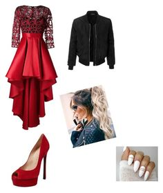 """""""Untitled #57"""" by kamillafree ❤ liked on Polyvore featuring Christian Pellizzari, Casadei and LE3NO"""