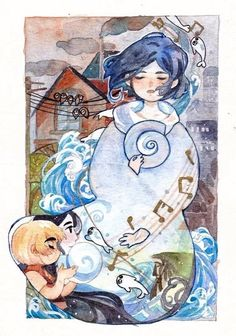 Song of the Sea Irish Movies, The Secret Of Kells, But Is It Art, Sea Illustration, Song Of The Sea, Art Prompts, Comic Drawing, Irish Art, Art Template