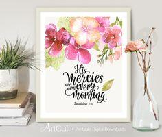 Printable wall Art digital artwork download Scripture Bible