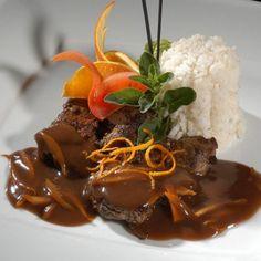 Narancsos szarvasszeletek Recept képpel - Mindmegette.hu - Receptek Beef, Recipes, Food, Meat, Essen, Meals, Ripped Recipes, Yemek, Eten
