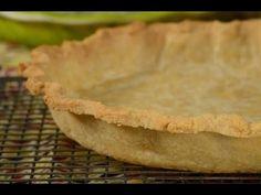 Prebaked Pie Crust Recipe Demonstration - Joyofbaking.com