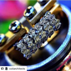 "Gefällt 102 Mal, 7 Kommentare - MaxVaping (@maxvapingstore) auf Instagram: ""Nice  #Repost @coilarchitects (via @repostapp) ・・・ Dope corrugated thingy Builder: @grovemitchell…"""