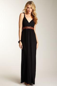 Spense  Braided Strap Maxi Dress