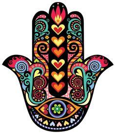 Decorative wall sticker with drawing and clipping of hamsa … – Wall Pictures Tatouage Main Hamsa, Hamsa Hand Tattoo, Hamsa Art, Mandala Art, Hamsa Design, Wall Decor Stickers, Wall Sticker, Hamsa Drawing, Fatima Hand