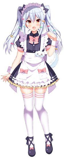 Anime Girl Cute, Beautiful Anime Girl, Kawaii Anime Girl, Anime Girls, Anime Summer, Anime Traps, Anime Maid, Anime Girl Drawings, Boy Photos