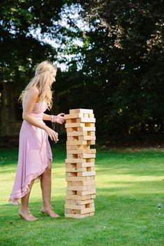 A great way to ensure your guests are fully occupied and entertained, invest in some of these outdoor game ideas for your wedding