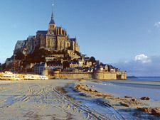 One of my favorite places, ever. Summer of '06 with son Kevin -- Le Mont St Michel in Normandy, France - right on the coast. If you're in France - you HAVE to visit.