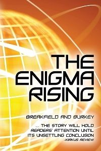 The Enigma Stolen by Breakfield and Burkey All Seeing Eye, Human Behavior, Fiction Books, Book Review, A Team, The Creator, Authors, Thriller, Parks