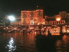 Varanasi ghat dev dipawali