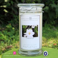 Gardenia Jewelry Candles - The Official Website of Jewelry Candles - Find Jewelry In Candles!