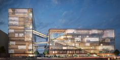 Internationally recognized design firms SHoP Architects and Studio O+A have been selected to create Uber's new headquarters in the Mission Bay neighborhood o...