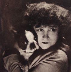 Colette et son chien Souci (Maurice Tabart, 1928-29)