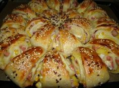 World Recipes, Meat Recipes, Cooking Recipes, Bread Dough Recipe, Good Food, Yummy Food, Hungarian Recipes, Winter Food, International Recipes