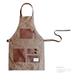Canvas  leather apron from TRVR