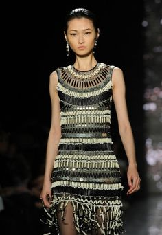 Naeem Khan Fall 2012 Collection at Lincoln Center during Mercedes-Benz Fashion Week in New York City