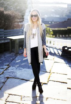 perfect melbourne winter outfit The cardigan!!