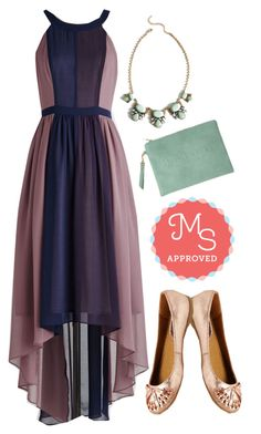 """""""Peachy Queen Dress in Berry"""" by modcloth ❤ liked on Polyvore featuring Seychelles"""