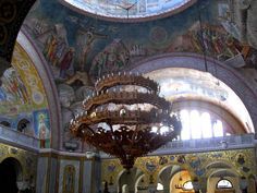 Photos from inside of the Church of St Andrew, Patras – Greece