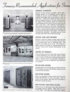 Formica 'Catalogue Publicitaire' - 1938