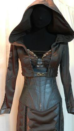 Part 2 of Kahlan's dress from Legend of the Seeker.