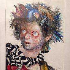 """Gorgona"" Jose Luis Carranza • ""Bestiario"" #muestra colectiva #arteenlima #arte #artinlima #art #artistaperuano #artist #artista #peruvianar..."