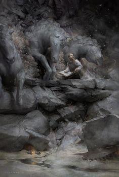 "Fantasy Illustration Blog by Cynthia Sheppard: ""Momentum"" | New personal work"