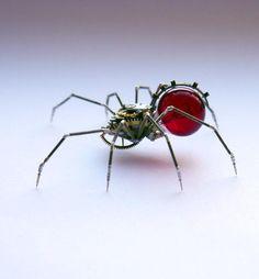 スチームパンク・スパイダー (via http://www.reddit.com/r/pics/comments/22lt2k/steampunk_spider/ …) pic.twitter.com/eFOW3obC0m