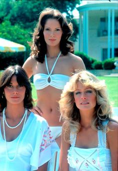 The incredible and amazing Farrah Fawcett, Kate Jackson and Jaclyn Smith on the incredible y super successful tv show Charlie's Angels Kate Jackson, Farrah Fawcett, Jaclyn Smith Charlie's Angels, Jaclyn Smith Now, Jacklyn Smith, Good Morning Angel, Cheryl Ladd, Meg Ryan, Sophie Marceau