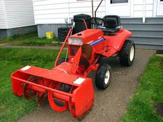 "Gravely 8163 with 48"" Snow Cannon"