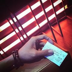 For the first time in forever  One ticket I can spend  #somethingcolorfultoday #orange #light #bracelet #cinema #kamil_accessories #kamil #delucadecor #oneticket #frozen #insideout
