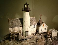 Light house Photo Troels Kirk, He's presenting his scenery in the Railroad Lines Forums http://www.railroad-line.com/forum/topic.asp?TOPIC_ID=23577&whichpage=1 Building . At this moment starts on page 10 however lots of modelling to see.