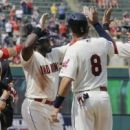 Almonte leads Indians to 9-2 win against slumping Angels (Yahoo Sports)