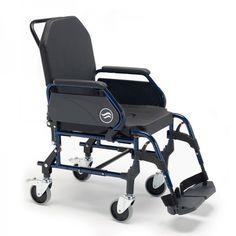 """Sillas de ruedas de interiores Breezy Home. Breezy Home es nuestra nueva gama de sillas de ruedas fijas para interiores. Con 4 modelos disponibles en función del tipo de respaldo seleccionado (standard o reclinable) y del tamaño de las ruedas (ruedas de 125 mm o con rueda trasera de 24""""). Con asiento y respaldo anatómico de serie, reposapiés a 70º desmontables y giratorios y reposabrazos abatibles hacia atrás y desmontables."""