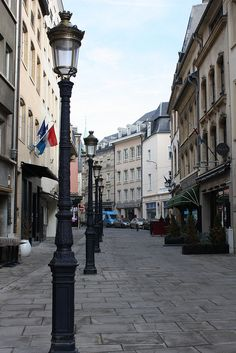Luxembourg City, Luxembourg    love walking through  the center of cities  on cobblestone streets , looking ant shops, people  and stopping for  snacks !