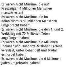 Es waren nicht Muslime...