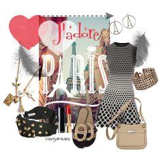 """J'adore Paris"" by furettina on Polyvore"