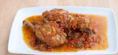 Pollo al chilindrón Empanadas, Poultry, Pork, Menu, Chicken, Gastronomia, Recipes, Tuna Steaks, Beef Stew Meat
