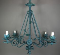 vintage pink and turquoise chandelier lighting pinterest pink chandeliers and turquoise chandelier - Turquoise Chandelier Light