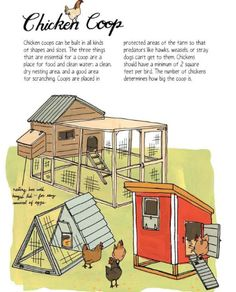 Farm Science - cool #chicken coops - hen houses