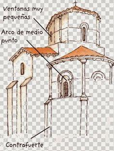 Romanesque Art, Romanesque Architecture, Church Architecture, Interior Architecture, Everyday Objects, Kirchen, Dom, Art History, Layout