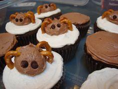 ~ Spider Cupcakes ~