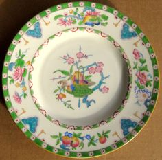 Beautiful Vintage Mintons Hand Painted Dinner Plate England