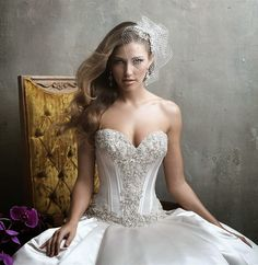 Allure Couture Fall 2014 Bridal Collection - Belle The Magazine