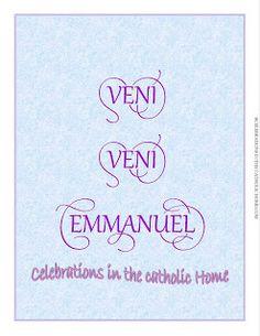 Banner e calendário do Advento