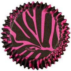 Wilton ColorCup Standard Baking Cup Liner, Pink Zebra 36 ct. 415-0751