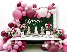 54 Ideas For Baby Shower Table Balloons Parties Decorations Baby Shower Cake Pops, Baby Shower Table, Baby Shower Themes, Shower Party, Shower Ideas, Balloon Garland, Balloon Decorations, Birthday Party Decorations, Parties Decorations