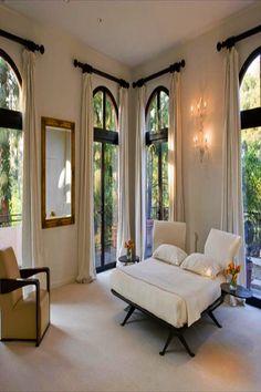 Airy Bedroom, Master Bedroom, Bedroom Decor, Bedroom Drapes, Curtains Living, Design Bedroom, Dream Bedroom, Master Suite, Bedroom Ideas