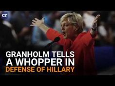 PolitiFact rates former Michigan gov. Granholm's defense of Hillary - YouTube