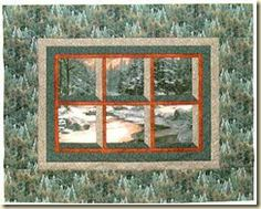 Attic Window Quilt Pattern Variations | Blogs from the Cabin ~ Dakota Cabin Quilts: September 2009